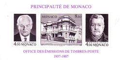 Monaco. Bloc No 39. Office Des émisions De Timbre-poste.n**
