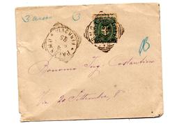 Carta Con Matasello De Palermo.