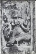 India 18th Century Religious Lord Karttikeya Gaurisagar Devidol Temple Monument 6X4 Postcard # A:21/2 - India