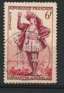 """FRANCE - GARGANTUA - N° Yvert 943 Belle Obliteration Ronde Peu Marquée De """"PARIS"""" De 1954 - Oblitérés"""