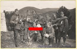 Matrignano Arezzo 1932 Soldati Militari Fucili