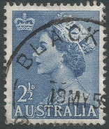 Australia. 1953-6 QEII Definitives. 2½d Used SG 261a - 1952-65 Elizabeth II : Pre-Decimals