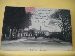 B7 5703 - 51  EPERNAY - LA GARE - 1904 - ANIMATION