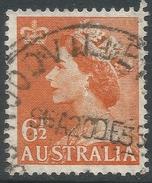 Australia. 1953-6 QEII Definitives. 6½d Used. C Of A Watermark. SG 263a - 1952-65 Elizabeth II : Pre-Decimals