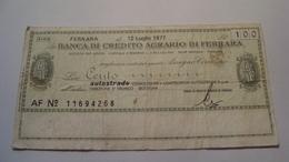 BILLET ITALIE 100 LIRE 1977 - [ 2] 1946-… : République