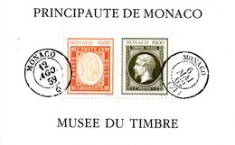 Monaco. Bloc No 58. Musée Du Timbre.1992.n** - Blocks & Sheetlets