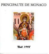 Monaco. Bloc No 79. Noel 1998.n**