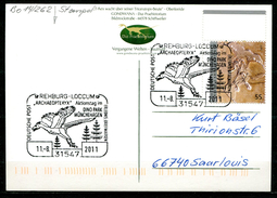 "Germany 2011seltene First Day Sonderkarte Mi.Nr.2887 Ersttagscard""150 Jahre D.Entdeckung Urvogels,Archaeopteryx""1 Karte"
