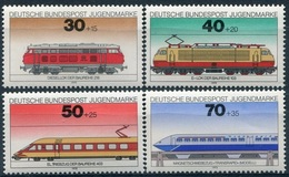 Y&T  N° 685-688 ** Train