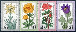 Y&T  N° 716-719 ** Flore