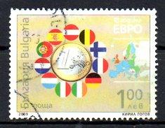 BULGARIE. N°4224 Oblitéré De 2009. Euro. - Münzen