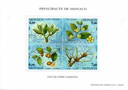 Monaco. Bloc No 68. Les Quatre Saisons Du Jujubier.1995.n**