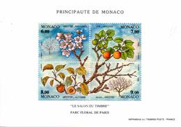 Monaco. Bloc No 67. Les Quatre Saisons De L'abricotier.1994.n**