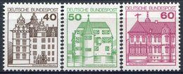 Y&T  N° 876-878 ** Chateau