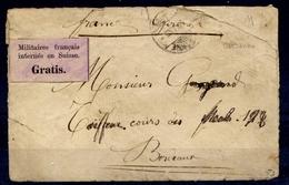 """Lettre De Lausanne 22 Févr. 71 Avec Etiquette Violette """"GRATIS"""" - Signé - Cote 1250 Euros - TB Qualité - Sin Clasificación"""