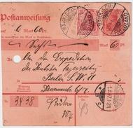 DR, 1917, Bedarfs-Postanweisung! , #8244