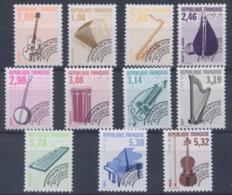 France - Préobiltérés N°216 à 226 - Neuf - Cote 96€ (F124) - Préoblitérés