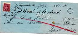 Cheque De Canada De 1947.