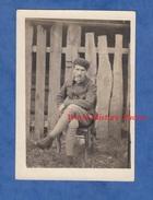 Photo Ancienne D'un Poilu - CHATEAU THIERRY - Portrait D'un Soldat Du 8e Régiment D'Aviation - Voir Uniforme Pose Garçon