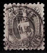 Schweiz, SBK Nr. 69 B, Gestempelt , Franken 1200.- #8259