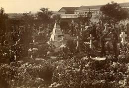 Chine Tianjin Tien-Tsin Cimetiere Monument Aux Victimes Francaises Ancienne Photo 1906