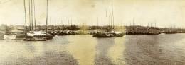 Chine Le Port De Tchang Cho Ancienne Photo Panorama 1906 - Places