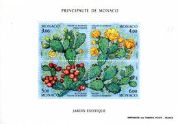 Monaco. Bloc No 55.jardin Exotique.1992.n**