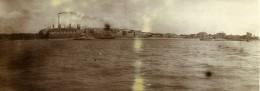 Chine Nanchang  Panorama Vue Du Fleuve Ancienne Photo 1906
