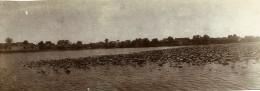 Chine Nanchang  Lac Et Temple De Pei Kwa Thou Ancienne Photo Panorama 1906