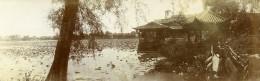 Chine Nanchang Temple Et Lac Du Pei Kwa Chow Ancienne Photo Panorama 1906
