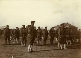 Chine Tianjin Tien-Tsin Groupe De Soldats Japonais Ancienne Photo 1906