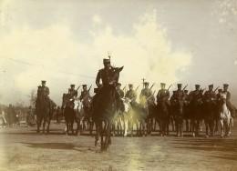 Chine Tianjin Tien-Tsin Cavalerie Japonaise Defile Militaire Ancienne Photo 1906