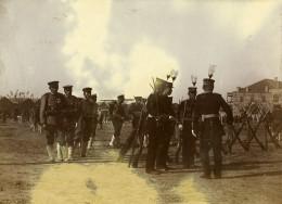 Chine Tianjin Tien-Tsin Groupe D'officiers Japonais Ancienne Photo 1906
