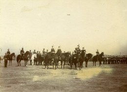 Chine Tianjin Tien-Tsin General Kamio Mitsuomi Et Son Etat-Major Ancienne Photo 1906