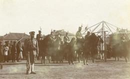 Chine Tianjin Tien-Tsin General Japonais Kamio Mitsuomi Et Son Etat-Major Ancienne Photo 1906