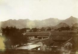 Chine Mongolie Lac Tien Vers Souaï Ancienne Photo 1906