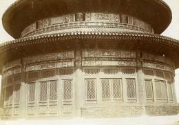 Chine Pékin Beijing Le Temple Du Ciel Ancienne Photo 1906 - Lieux