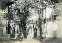 Chine Pékin Beijing Steles Dans La Cour Du Collège Impérial Ancienne Photo 1906