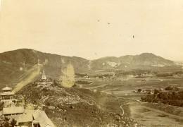 Chine Pékin Beijing Vue Prise De La Colline De La Fontaine De Jade? Ancienne Photo 1906