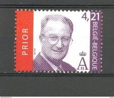 3204 KONING ALBERT II 4,21 EURO  POSTFRIS** 2003 - Neufs