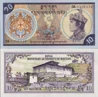 Bhoutan - Bhutan Billet De 10 Ngultrums Pick 15 Neuf 1er Choix UNC - Bhoutan
