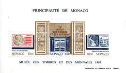 Monaco. Bloc No 69.musee Des Timbres Et Des Monnaies.1995.n**