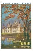 Touraine Chateau De Chambord - France