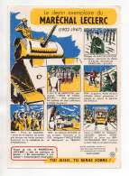 Buvard - Le Destin Exemplaire Du Maréchal Leclerc (1902-1947) - Buvards, Protège-cahiers Illustrés