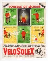 Buvard - Vélosolex - Conseil De Sécurité - Marceau, Montargis - Moto & Vélo
