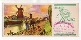 Buvard - Montres Herma - J. Sautard, Vésines-Chalette (Loiret) - Blotters