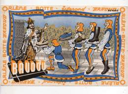 Buvard - Botte Baroud - Baudou - Buvards, Protège-cahiers Illustrés