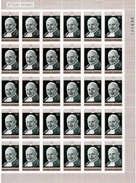 Ruanda 1970 Mi.Nr: 432 Bogenteil, Vatikan Päpste, Postfrisch** (30 Marken)