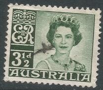 Australia. 1959-63 QEII Definitives. 3½d Used. SG 312 - 1952-65 Elizabeth II : Pre-Decimals