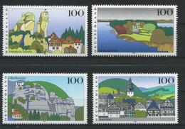 ALLEMAGNE FEDERALE    Images De L'Allemagne   N° Y&T  1639 à 1642  **